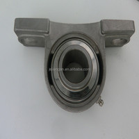2 bolt conveyor roller bearing housing pillow block 304ss