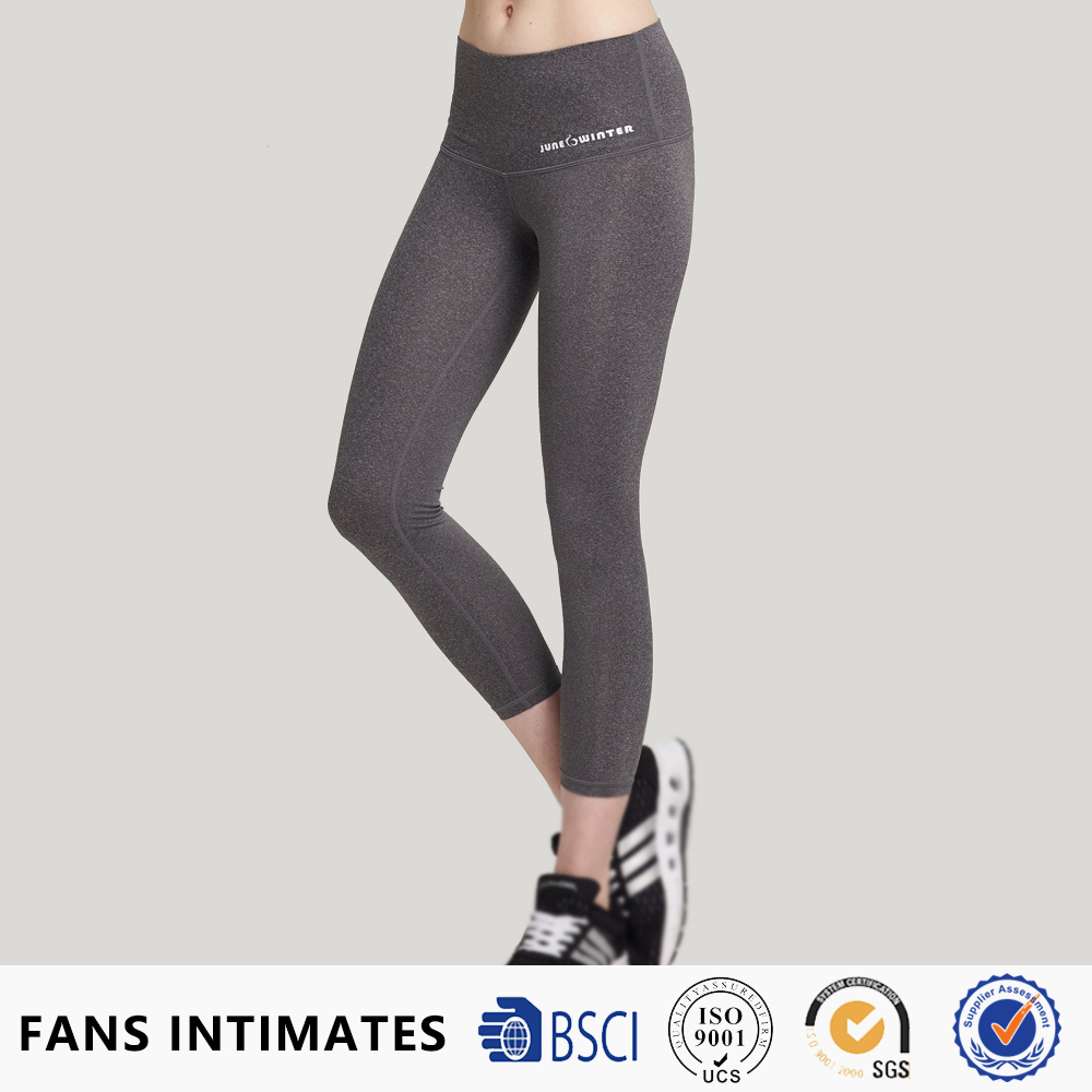 Sex polyester elastane soft touch indian fitness thermal pants new type milk silk cheap price cheeky butt triple ruffle leggings