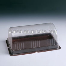 China hot sales clear fashionable disposable plastic blister cake