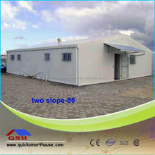 fire proof heat insulation prefab steel structure residential building