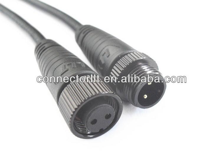 Low Voltage Connectors : Pole low voltage connector waterproof cable