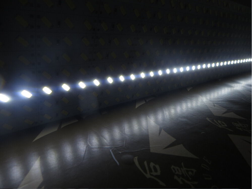 China Guangzhou supplier quality waterproof 12v 24v 8520 smd pure warm cool cold white led rigid strip light