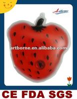 Artborne Red Fruits Shaped Heat Cold Pad /New Product For 2012(Manufacturer with CE,FDA,SGS Approved)