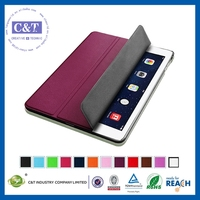 New Cell Phone Accessories newest for ipad air leather case with lowest price