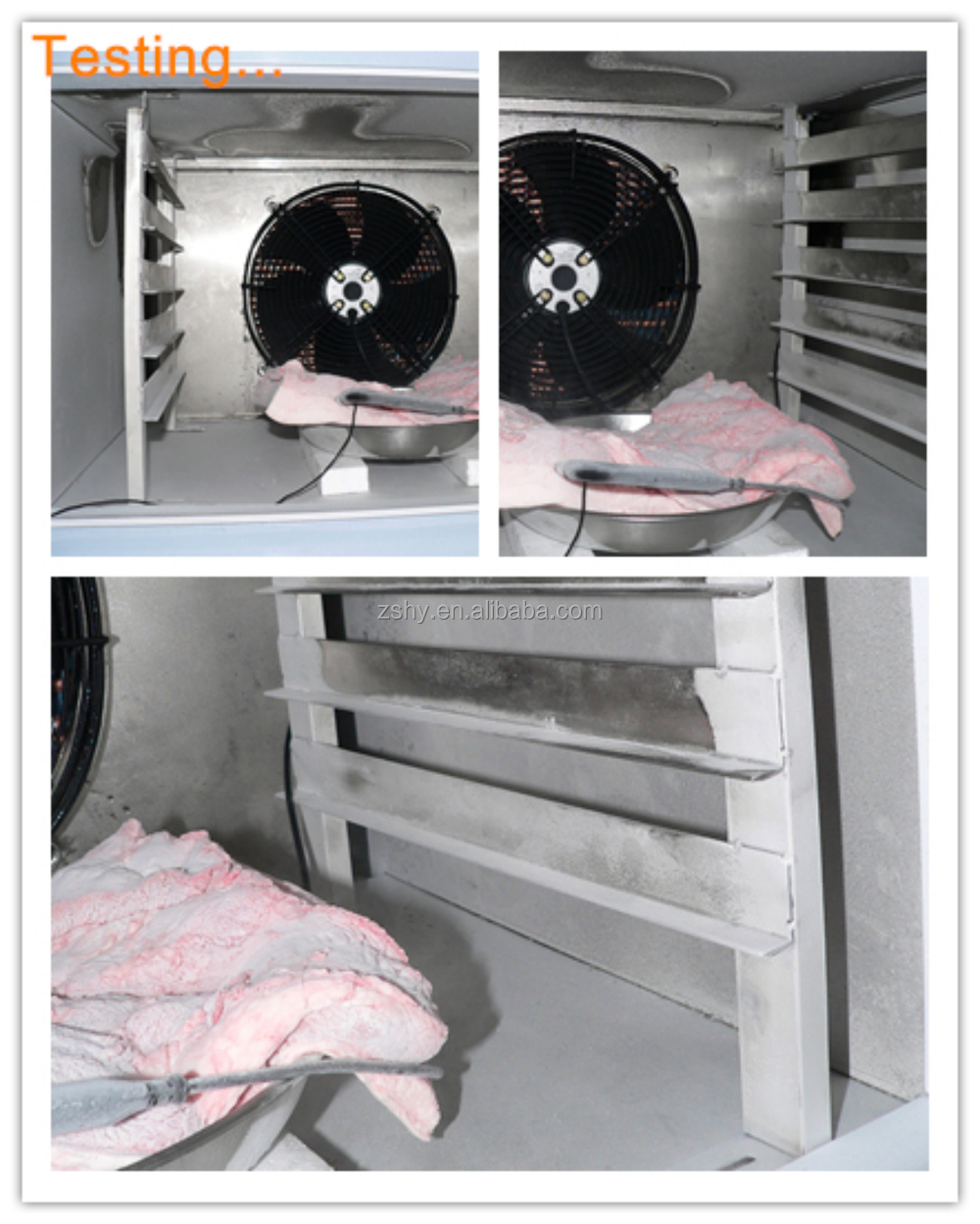 quick freezing machine, blast freezer manufacturer