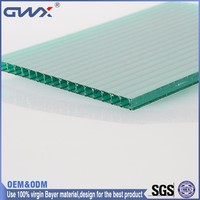 10 Year Warranty Lexan Lowes Polycarbonate Panels Hollow Sheet Roofing Sheet