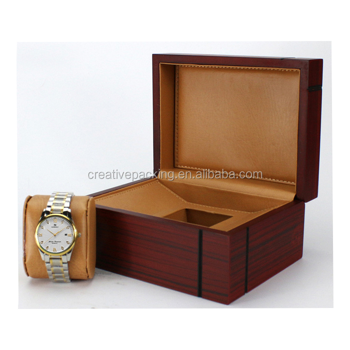 Personalized luxury Design High Gloss Lacquer Wooden Watch Box