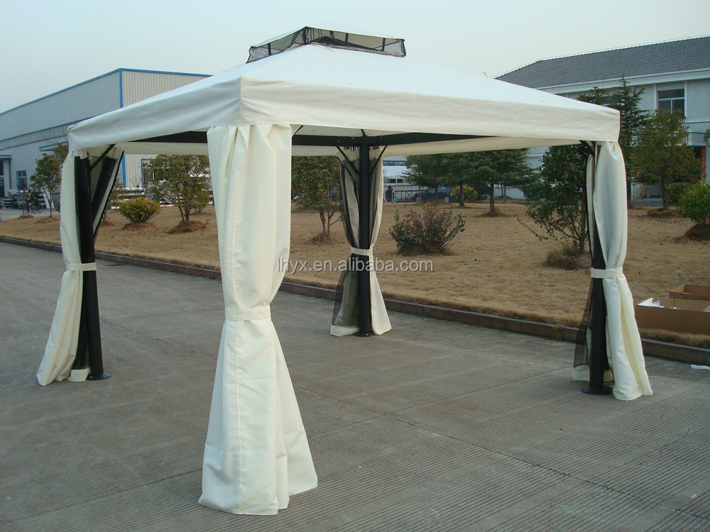 hot selling 3x3m 3x4m garden metal aluminum frame rome. Black Bedroom Furniture Sets. Home Design Ideas