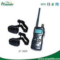 Electronic products for dog training/professional dog training for 2 dogs