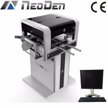 NeoDen4 Automatic SMT Pick and Place Machine with Vision 40 Feeders 4 Heads pcb making machine