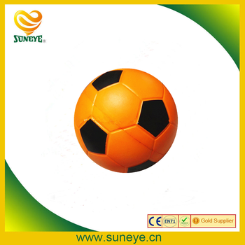 cheap promotional custom logo pu toy stress soccer ball