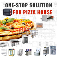 Restaurant Industrial Commercial Gas Electric Conveyor Pizza Oven For Sale