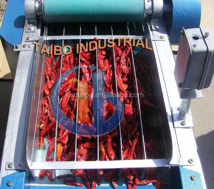 Competitive price Chili ring cutting equipment / red pepper stem cutter for sale