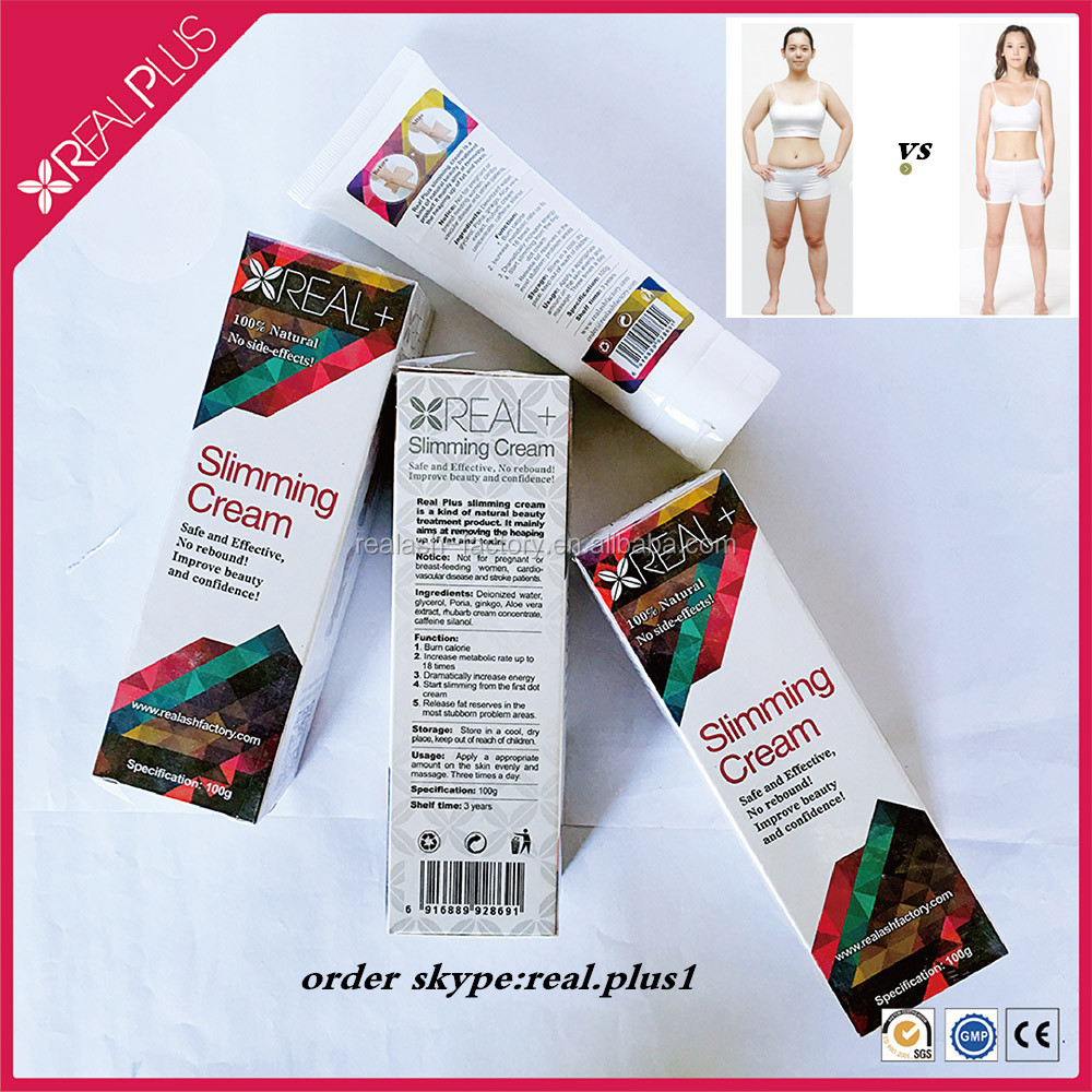 Free side effects of slimming gel reduce fat 7 days REAL PLUS loss weight cream