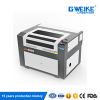 CO2 laser cutting machine cnc shoes making lc6090 60w 80w 100w 130w 150w price