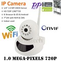 Weisky 1280*720P 1.0 Mp no alarm HD Wireless IP Camera wifi 720P Support Pan/Tilt Two way audio and P2P Plug Play ONVIF SD-CARD
