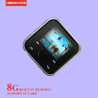 8GB touch button mini usb OLED screen wrist watch mp3 player