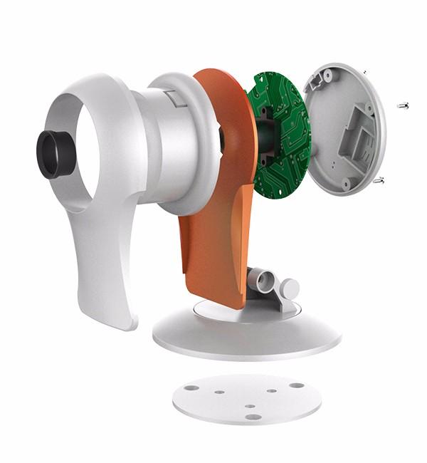 OEM ODM Mini Cube 1.0mp Infrared Wireless Hidden CMOS P2P Wifi IP Camera with Free UID