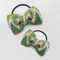 soft 3d rattle newest fashion elastic hair tie