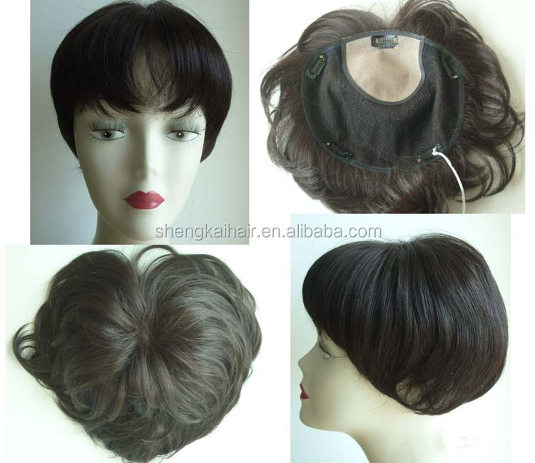 Hand tied Hair Closure Piece Made in China