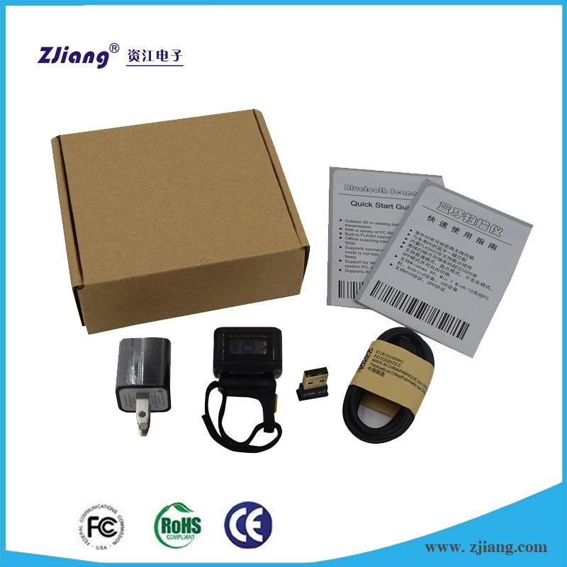 Finger bluetooth scanner , 2D bluetooth barcode scanner , wireless bar code scanner android