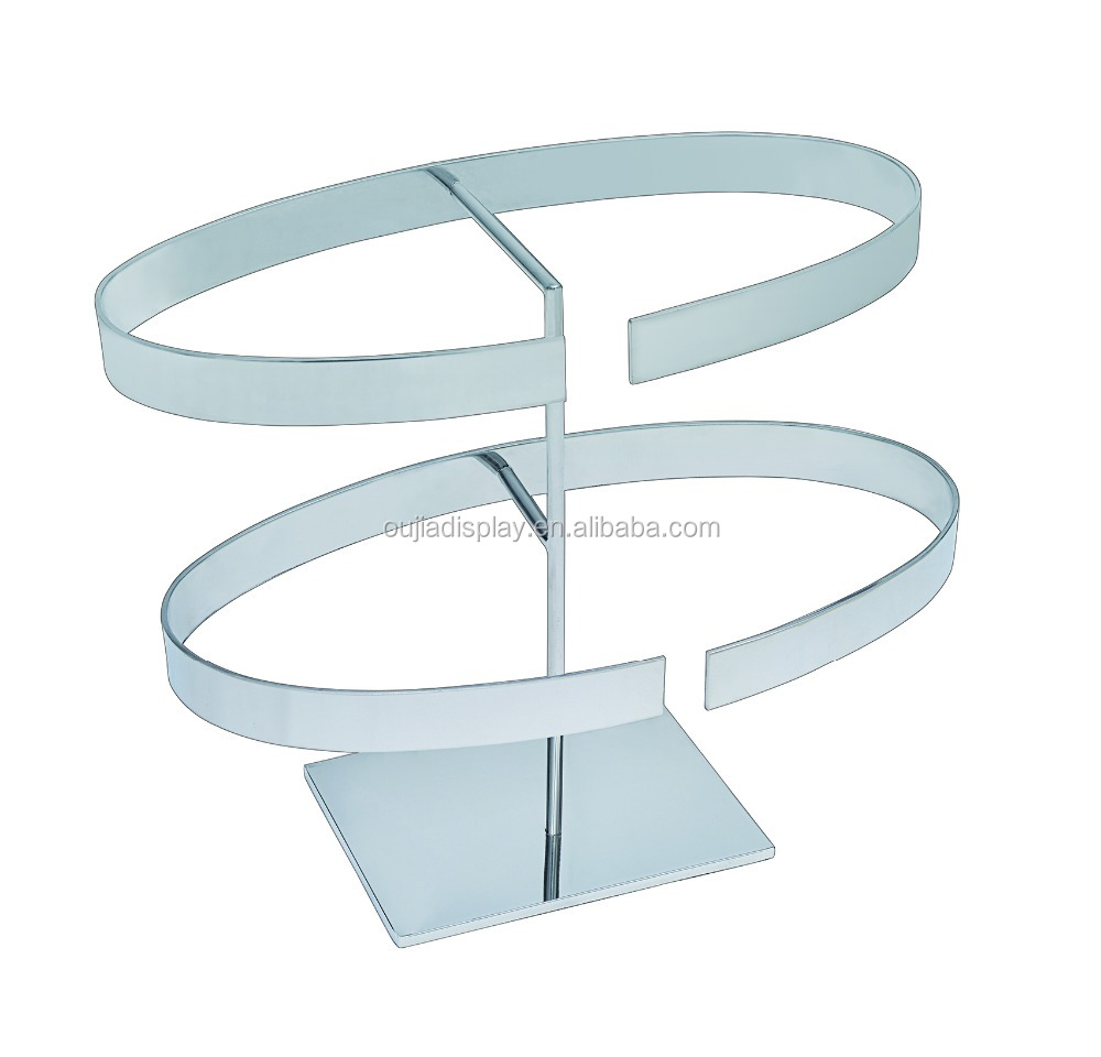 fashion store leather belt stand display rack on wholesale