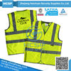 Reflective Fluorescent Safety Vest With Print