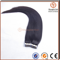 Full Cuticle Double Drawn High Quality Grade 7A Russian virgin Hair Tape Hair Extensions
