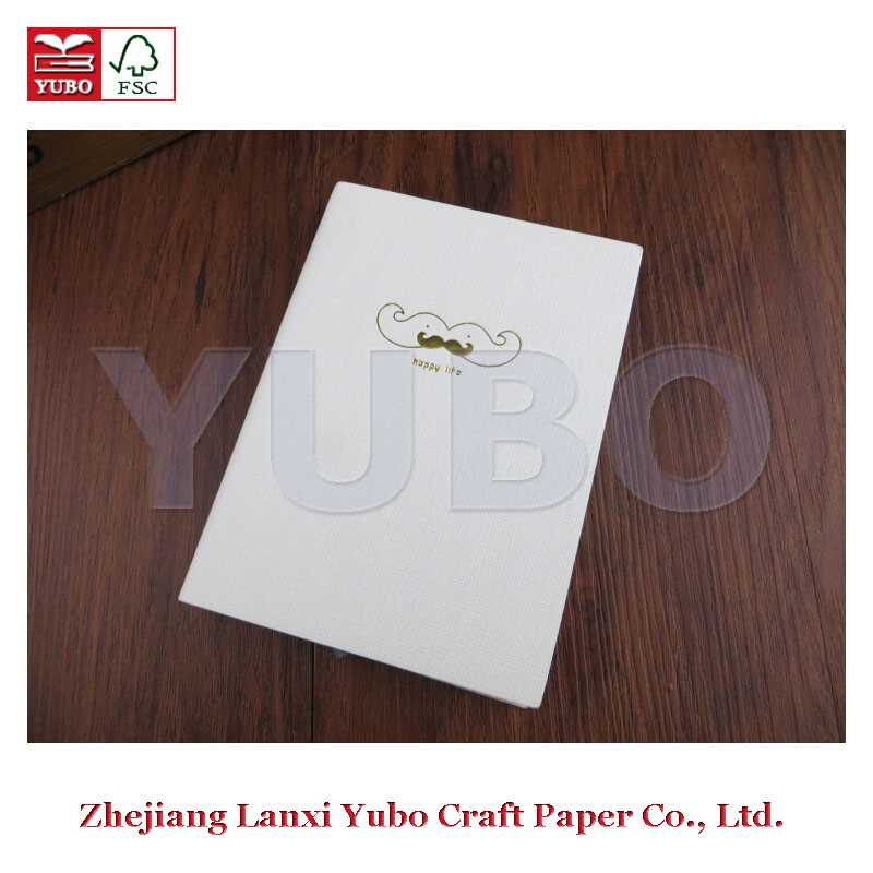 YB-1162 Yubo PU Notebooks 2017 Cloth Cover Diary Notebook recycled paper shopping bags