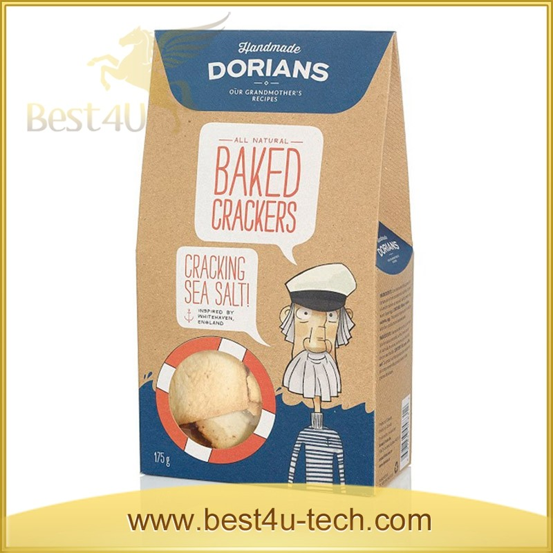 Fancy Custom Box Packaging Box for Donuts Food Fold Packing
