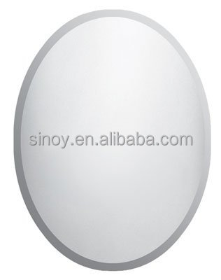HOT!5mm round beveled unframed mirror ,hair salon mirror, hotel mirror,decorative