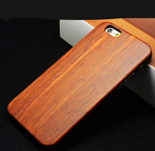 Button Plastic Phone Case for iPhone Bamboo with PC Blank Wood Phone Case for iphone 5s covers