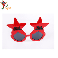 PGAC2109 Christmas Decoration Supplys Party Plastic Glasses Christmas Glasses For Funny