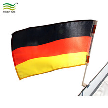 Cheap Standard Quality Germany Car flag With 43cm Pole For WM 2018