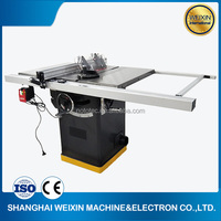 10 inch cabinet sliding table saw machine wood cutting machine