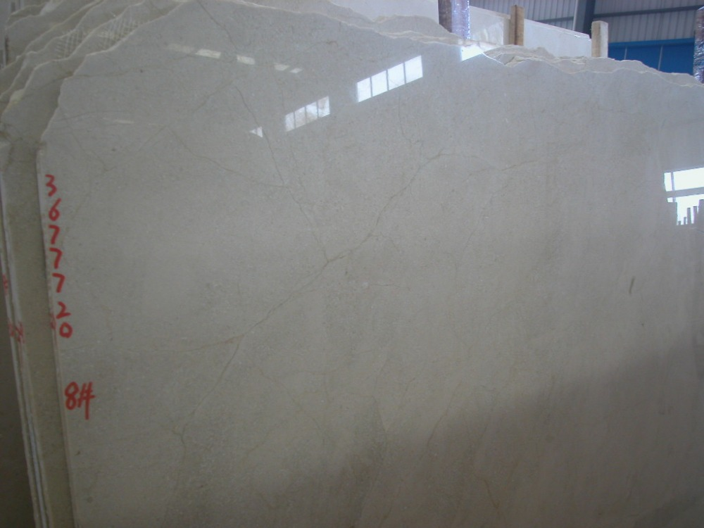Good Quality Crema Marfil Marble Slab