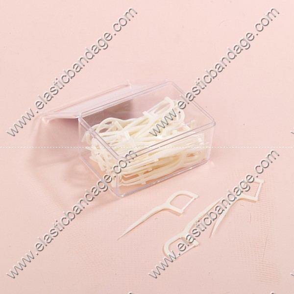 Plastic Dental Floss Pick/Toothpicks