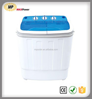 Semi-automatic double tub washing machine with wash capacity of 2/2.5/3/4/5 kg