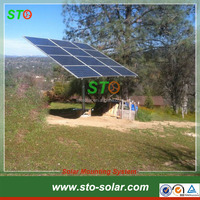 Single Pole Solar Panel Ground Mounting Kits,Solar Mounted System