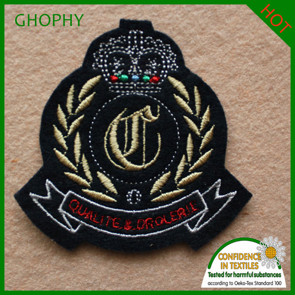 Sports football team logo Embroidery patch