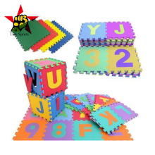 EVA foam baby playing mat puzzle anti-slip alphabet puzzle mat for Kids