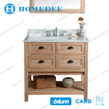 HOMEDEE bathroom mirror vanity cabinet with wash basin