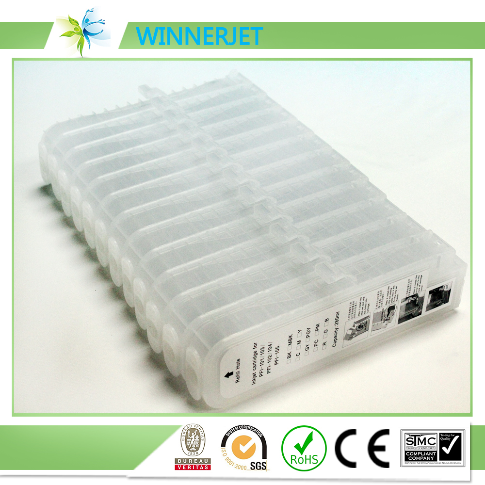 rechargeable refill ink cartridge for canon ipf6300 6350 photocopier