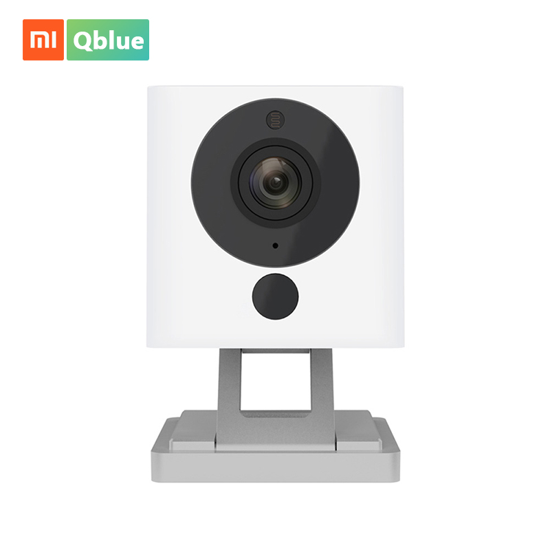 Xiaomi 1080P Portable Mini Smart IP Camera Digital Zoom Baby Monitor Support Night Vision Function Small Square Camera