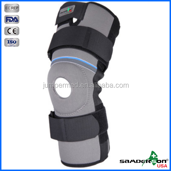 Samderson Hot Sale C1KN-2402 Open Patella Functional Knee Sleeve from China Manufacturer with CE, FDA, ISO