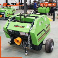 Quick Response Compact Tractor Mini Round Balers