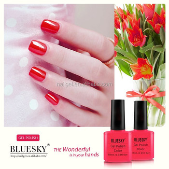 Bluesky soak off gel, uv led gel nail polish, 10ml 80505