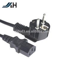 KETI Korea H05RN-F 3x1.0 Non-rewirable 2 Pin AC+T black Plug Power Extension Cord