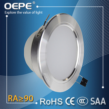 SMD Led Downlight 3000 Kelvins Round Led Downlight Aluminum Surface Ring 7W Led Recessed Down Light