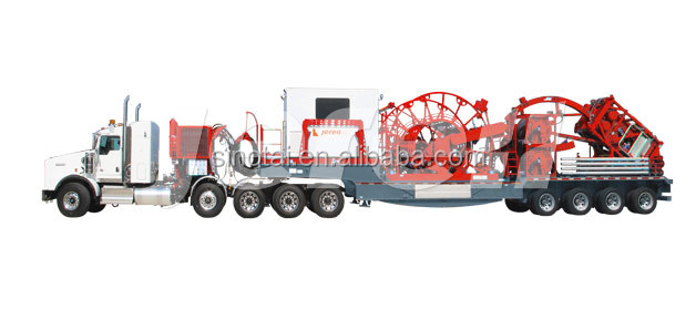 Oilfield coiled tubing unit